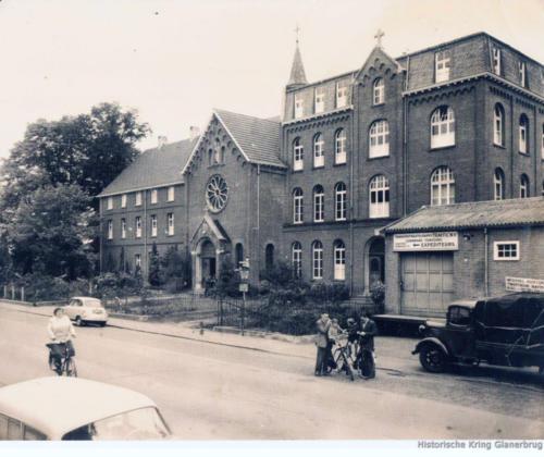 Glanerbrug ca. 1950 - Klooster Redemptoristen