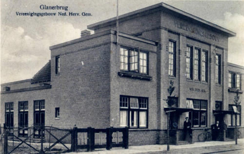 Glanerbrug, Veldstraat 3 - Verenigingsgebouw Nederlands Hervormd